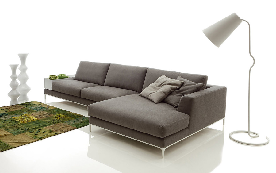 Contemporary Sectional Sofas With Chaise Home Designs